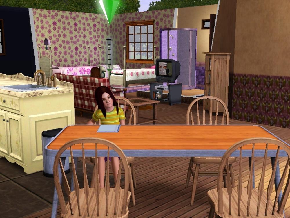 Geraldine doing homework